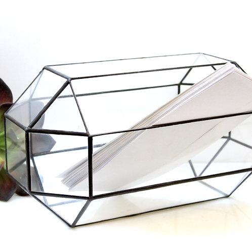 Свадебный сундук-ларец для конвертов. Средний размер