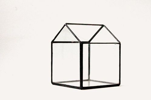 флорариум домик, геометрический флорариум