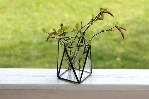 геометрическая ваза, оформление свадьбы
