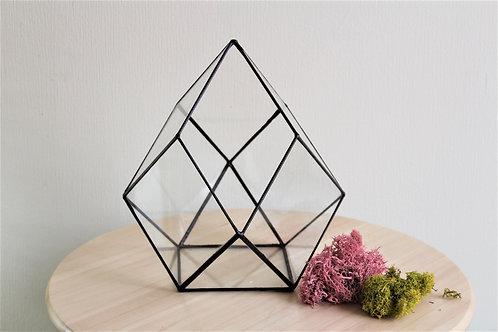 флорариум, ваза для флорариума, стеклянный флорариум, террариум, орхидариум, terrarium, loft