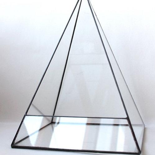 флорариум пирамида купить спб, террариум пирамида из стекла, пирамида тиффани купить, флорариум купить спб