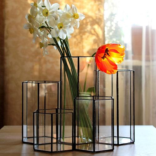 свадебные вазы, набор ваз, набор флорариумов,