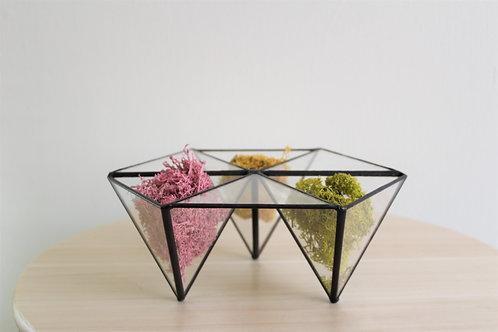 terrarium, loft, decor, artglass, флорариум, мох декоративный, декорирование, дизайн, стекло, тиффани