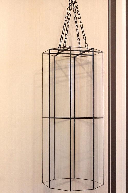 стеклянная лампа лофт, витражная лампа лофт, стиль лофт