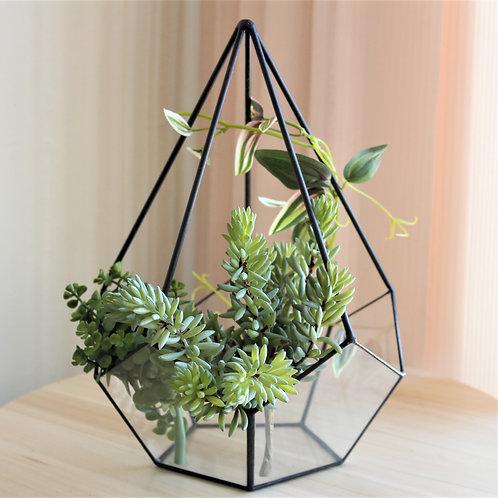 флорариум геометрический, ваза для флорариума, флорариум купить, флорариум спб
