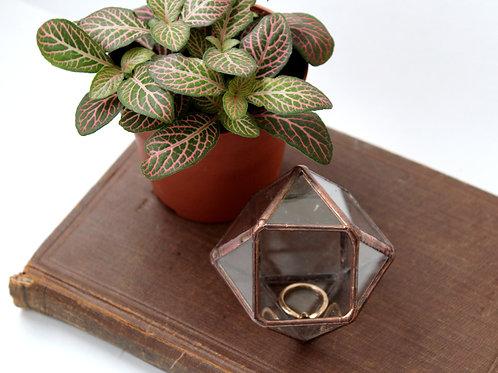 шкатулка для колец, шкатулка, шкатулка для свадьбы, свадебная шкатулка, шкатулка геометрическая