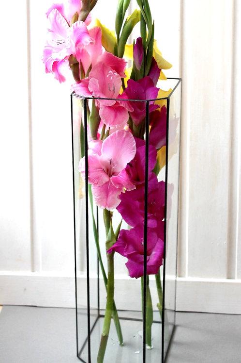 ваза витражная