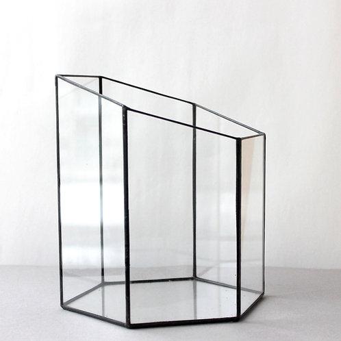 Флорариум геометрический Башня шестигранная малая, d - 18,5 см