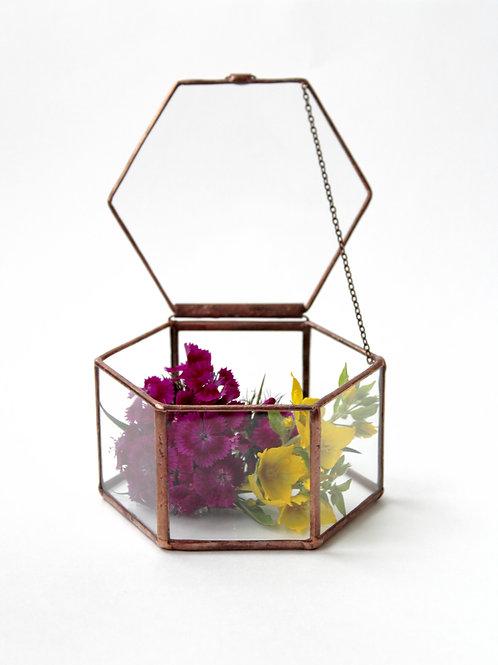 свадебная шкатулка, шкатулка, шкатулка из стекла, стеклянная шкатулка