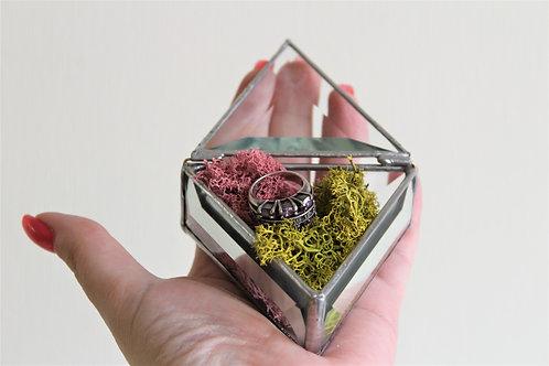 wedding box, glass box, скидка, скидки, wedding decor, коробочка для колец, свадебная шкатулка, шкатулка для колец купить спб