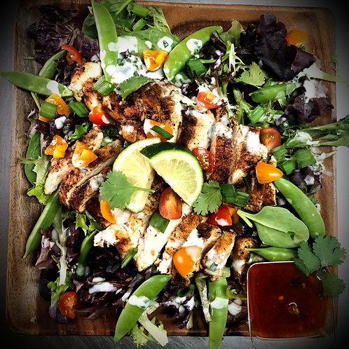 Thai Coconut Lime Chicken Salad