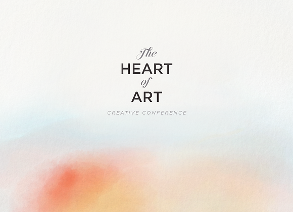 The Heart of Art Creative Conference Media