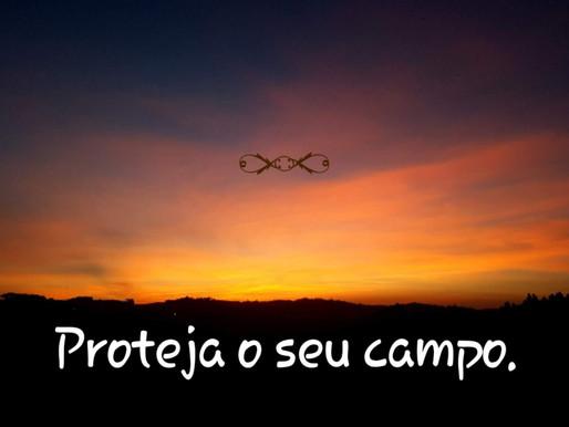 Proteja o seu campo