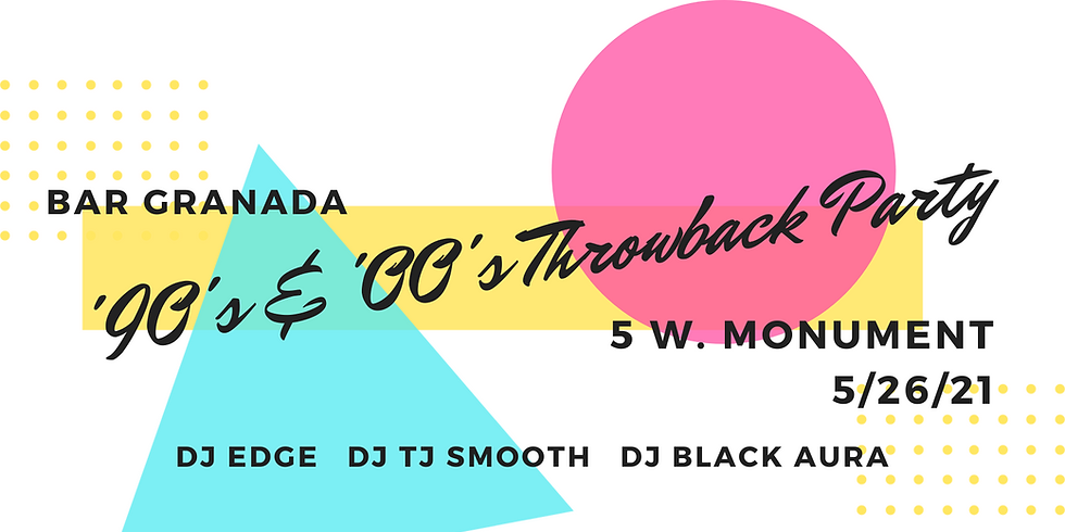 90's & 00's Throwback Party
