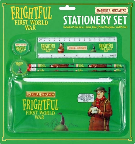 FRIGHTFUL FIRST WORLD WAR SCHOOL KIT WIT