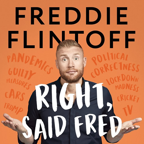 Right, Said Fred : The Most Entertaining and Enjoyable Book of the Year