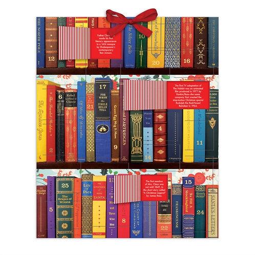 Festive Bookshelf Advent Calendar