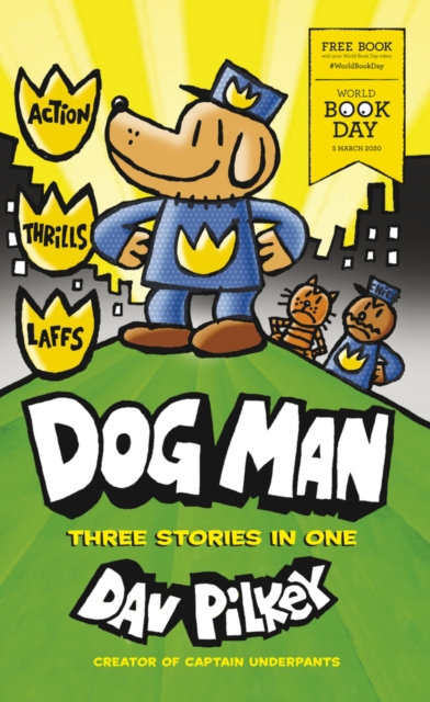 DOG MAN 3-IN-1 X50 PACK