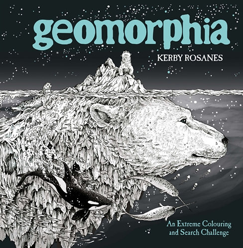 Geomorphia : An Extreme Colouring and Search Challenge
