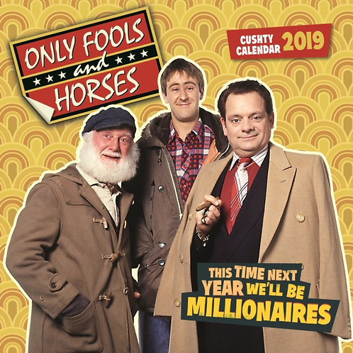 Only Fools And Horses Official 2019 Calendar - Square Wall Calendar Format