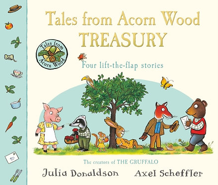 Tales From Acorn Wood Treasury : Four Lift-the-Flap Stories
