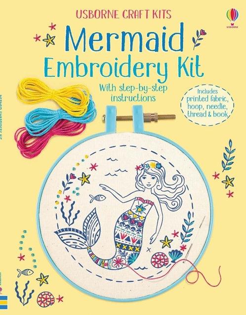 Embroidery Kit: Mermaid