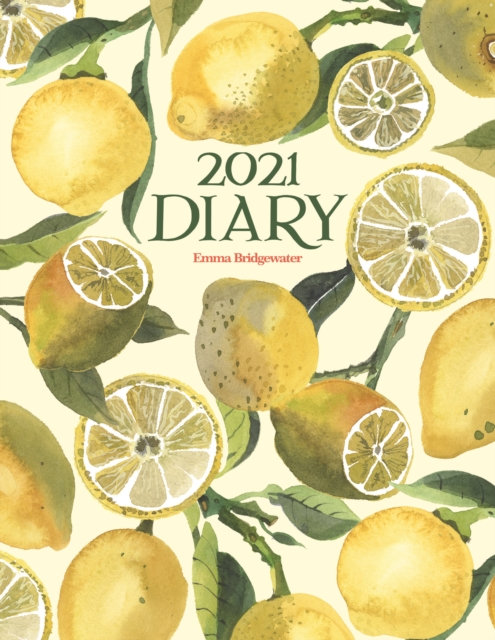 Emma Bridgewater Vegetable Gardens Lemons Deluxe A5 Diary 2021