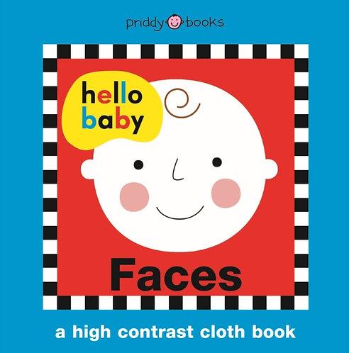 Hello Baby Faces Cloth Book