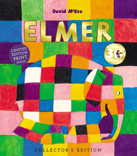 Elmer : 30th Anniversary Collector's Edition with Limited Edition Print