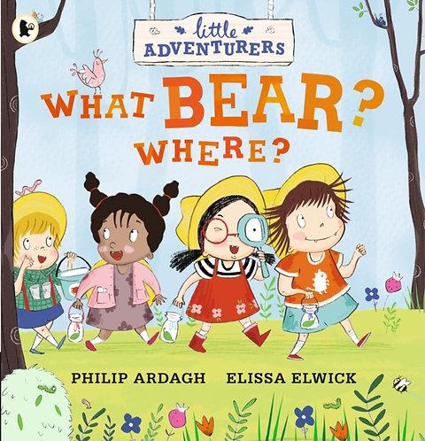 Little Adventurers: What Bear? Where?