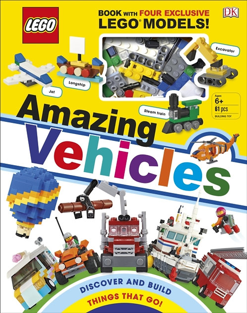 LEGO Amazing Vehicles : Includes Four Exclusive LEGO Mini Models