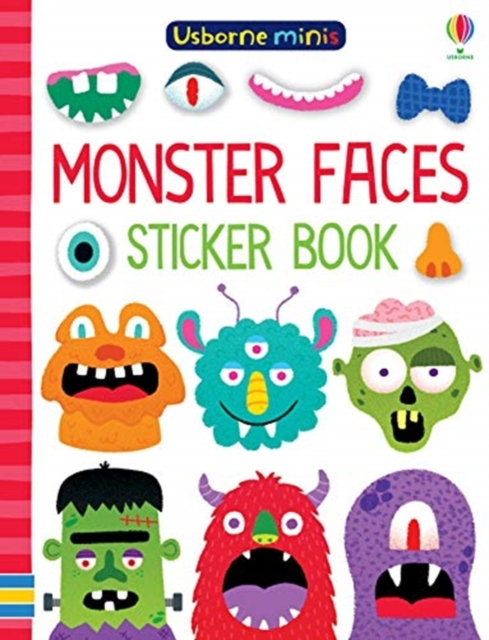 Monster Faces Sticker Book