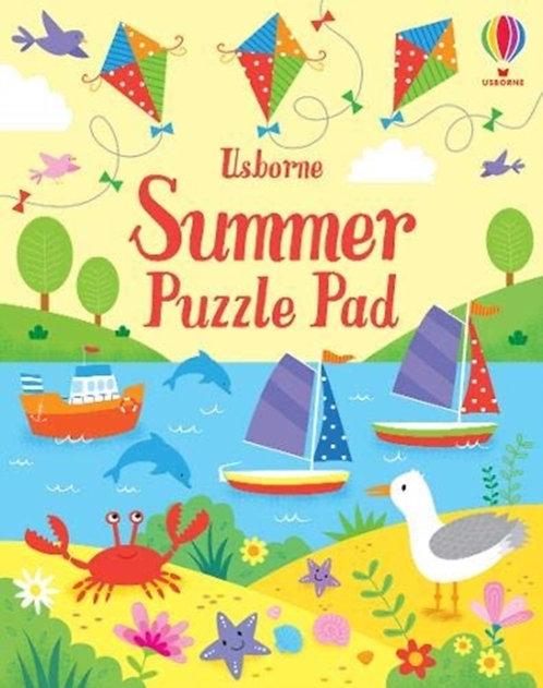 Summer Puzzle Pad