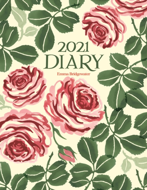Emma Bridgewater Pink Roses Deluxe A5 Diary 2021