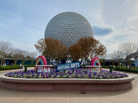Visual Arts Review ~ 2021 Taste of Epcot International Festival of the Arts
