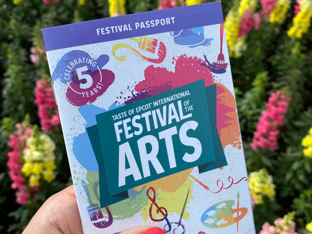 The Decadent Culinary Creations at the 2021 Taste of Epcot International Festival of the Arts