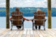 Couple relaxing on Seneca Lake Photo Cre