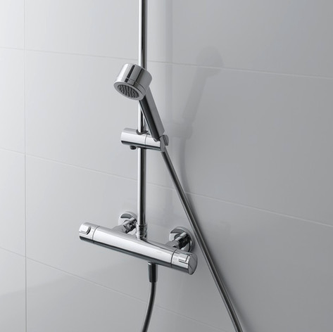 Basin and shower mixers