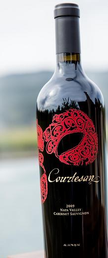"Courtesan ""Red Mask""  Rutherford  Cabernet Sauvignon"