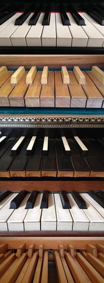 Jean Louis Roblin Claviers piano orgue clavecin
