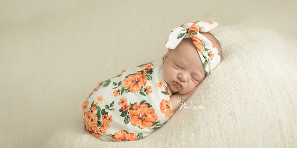 Baby Faith at a week old