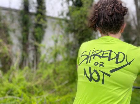 Shreddy T-Shirt (Lime)