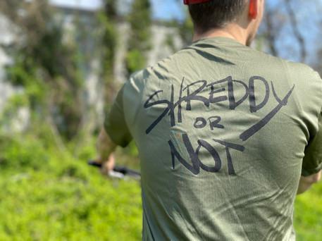 Shreddy T-Shirt (Olive)