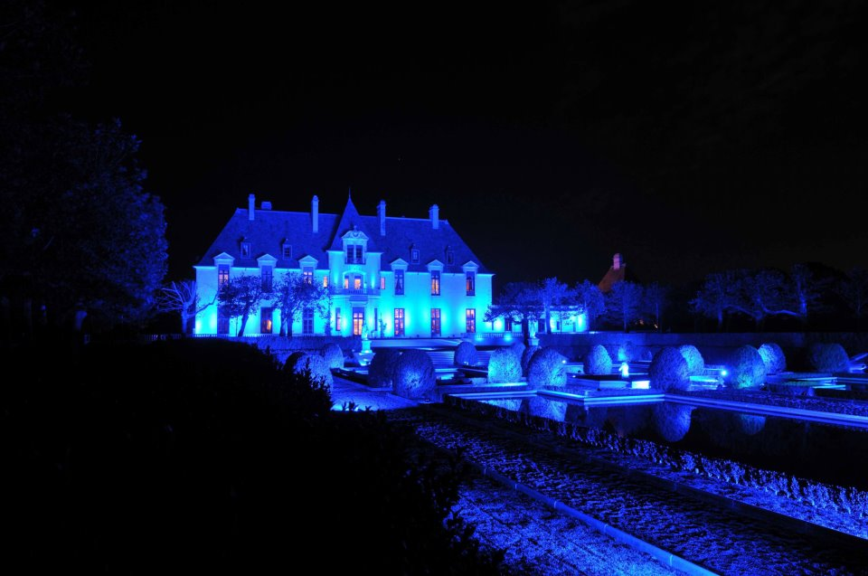 Oheka Castle Lighting