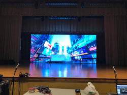 10' x 24' Video Wall for Play Backdrop