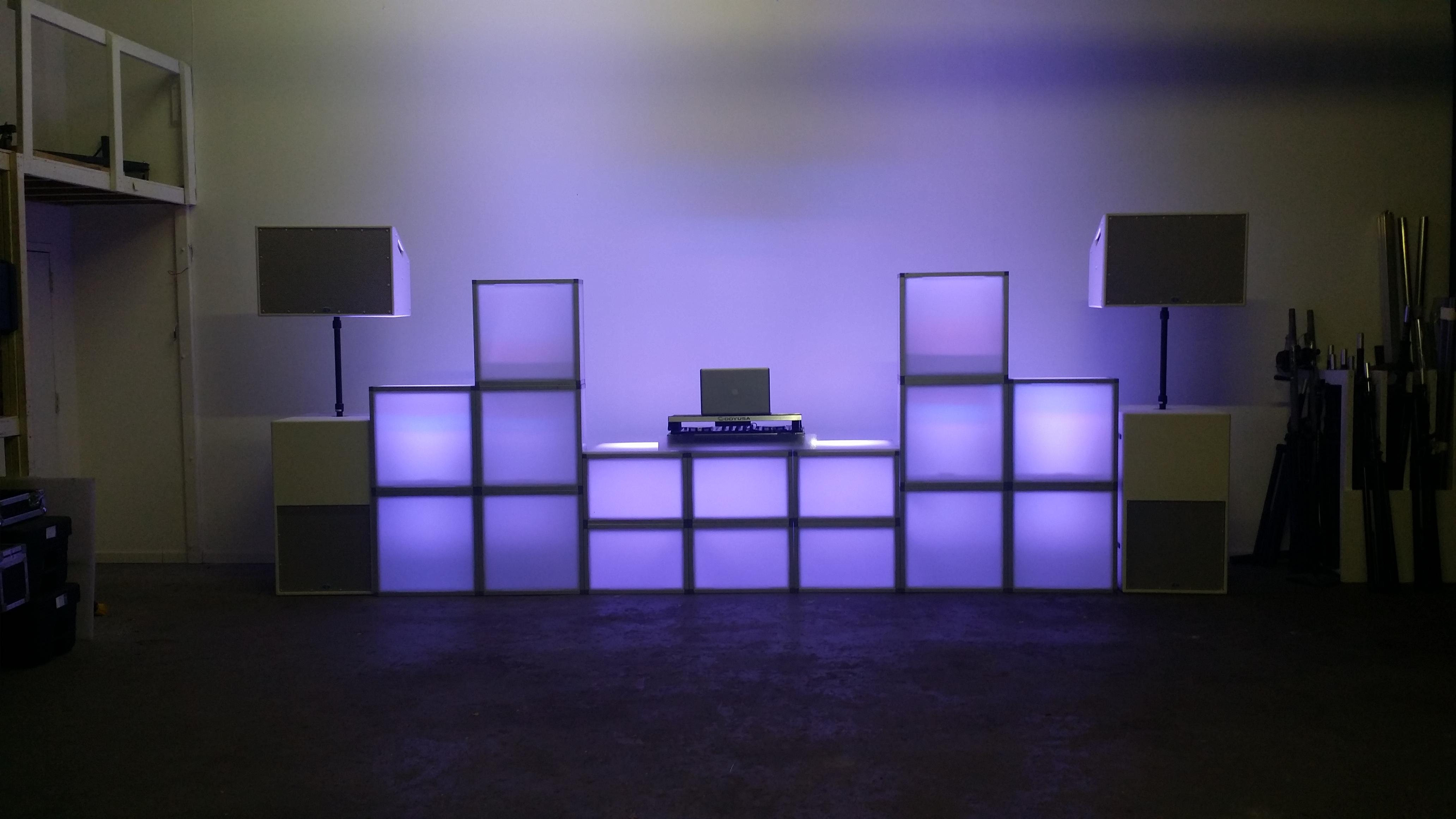 Modern DJ Setup