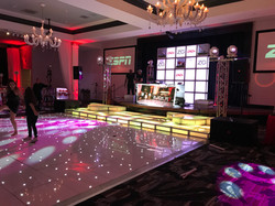 Curved Video Wall DJ Booth