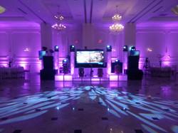 4 Panel Video DJ Booth