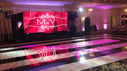 6.5' x 15' Led Screen for Sweet 16