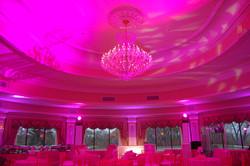 Pink Ceiling Uplighting
